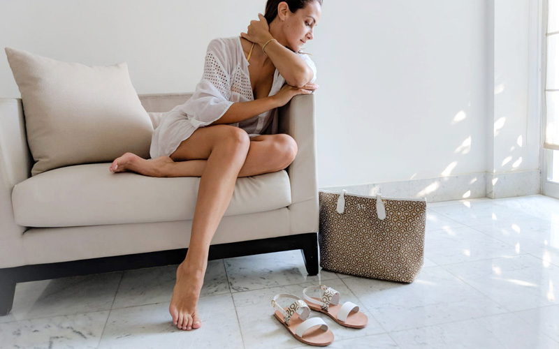 Alasia Lifestyle x MISCHA sandals collaboration - Destination Deluxe