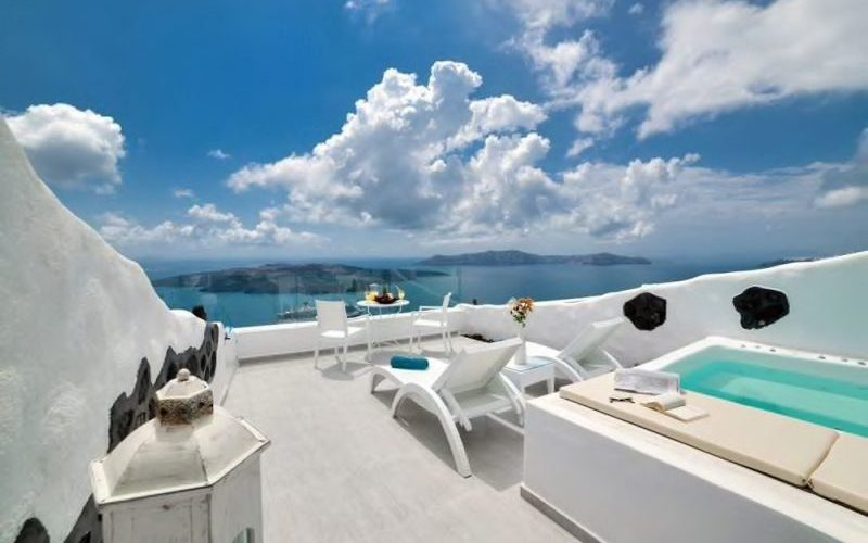 Fira Deep Blue Suites Santorini - Destination Deluxe
