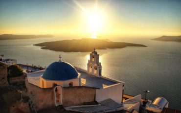 Santorini Travel Guide Pyrgos shot by Stephen Ng - Destination Deluxe