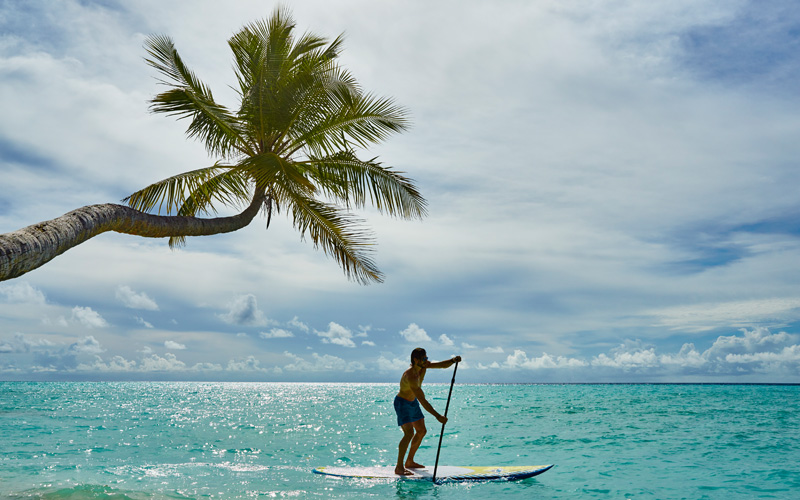 COMO Shambhala Retreat Maalifushi Maldives SUP - Destination Deluxe