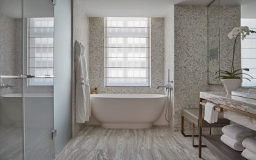 Four Seasons New York Downtown Bathroom - Destination Deluxe
