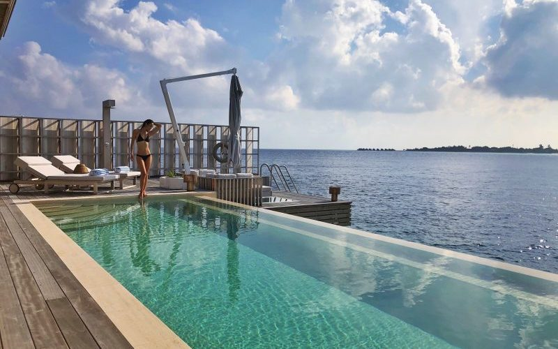 Kudadoo Maldives Private Island Villa Pool - Destination Deluxe