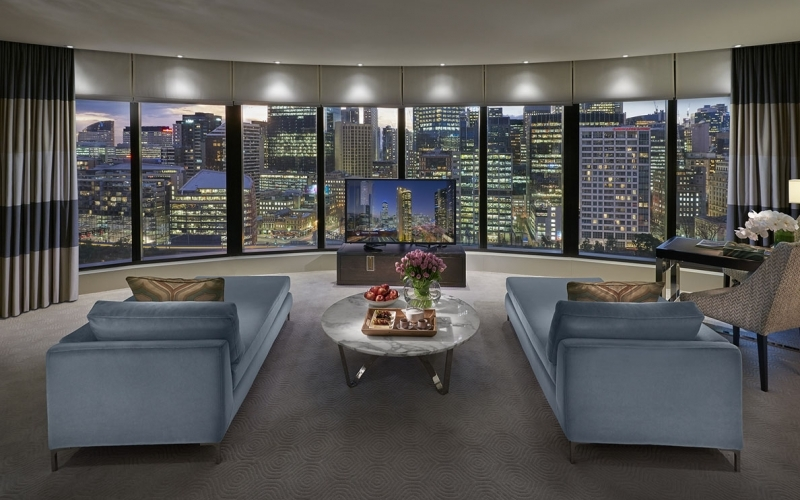 Crown Towers Melbourne Room with a View - Destination Deluxe