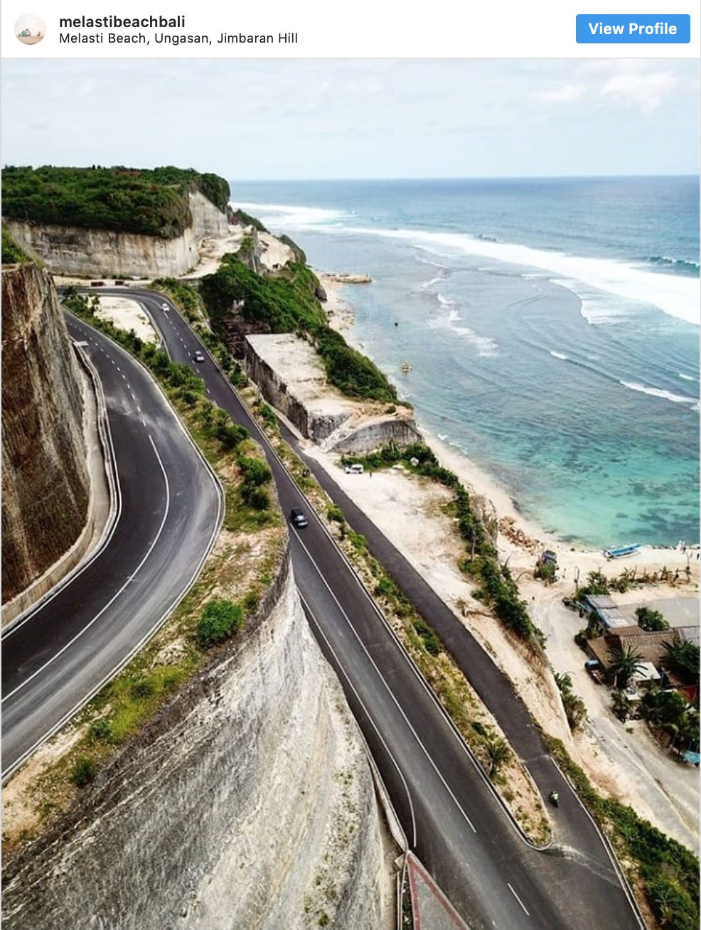 Instagram Spots High Cliff Melasti Beach Bali - Destination Deluxe