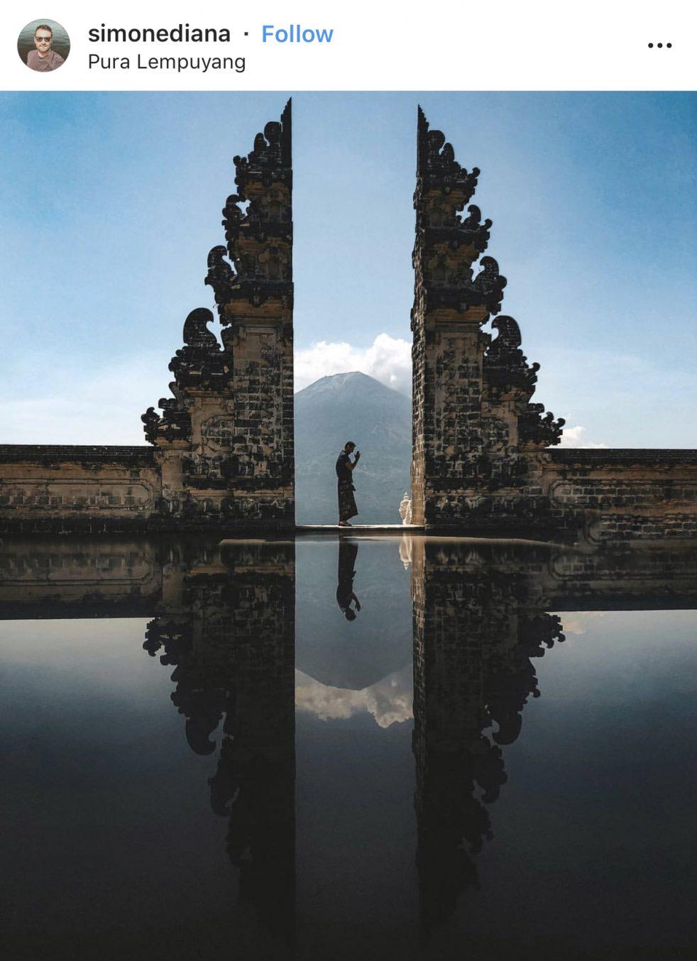 Instagram Spots Pura Lempuyang - Destination Deluxe