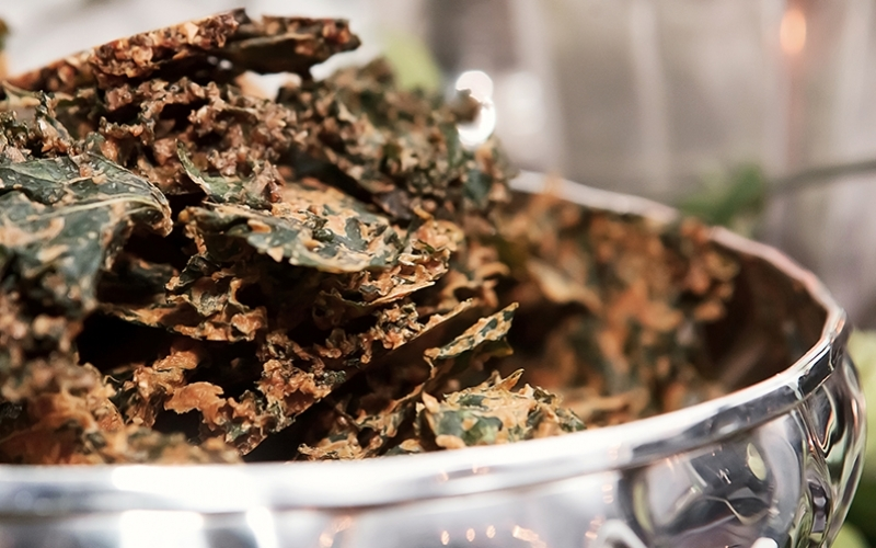 Kale Chips The Flexible Chef - Destination Deluxe