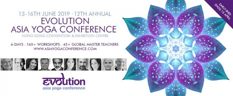 Evolution Asia Yoga Conference 2019 - Destination Deluxe