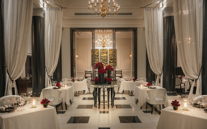 The Strand Yangon Myanmar Restaurant - Destination Deluxe