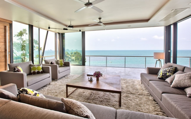 The View Samui Living Room - Destination Deluxe