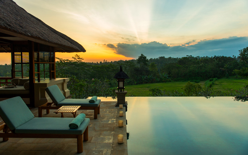 Amandari Aman Bali Indonesia Sunset - Destination Deluxe