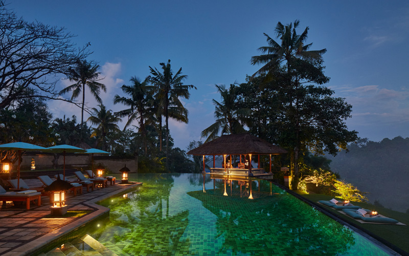 Amandari Aman Bali Pool - Destination Deluxe
