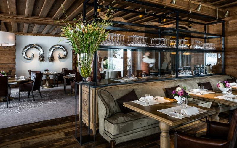 Alpina Gstaad Switzerland Restaurant - Destination Deluxe