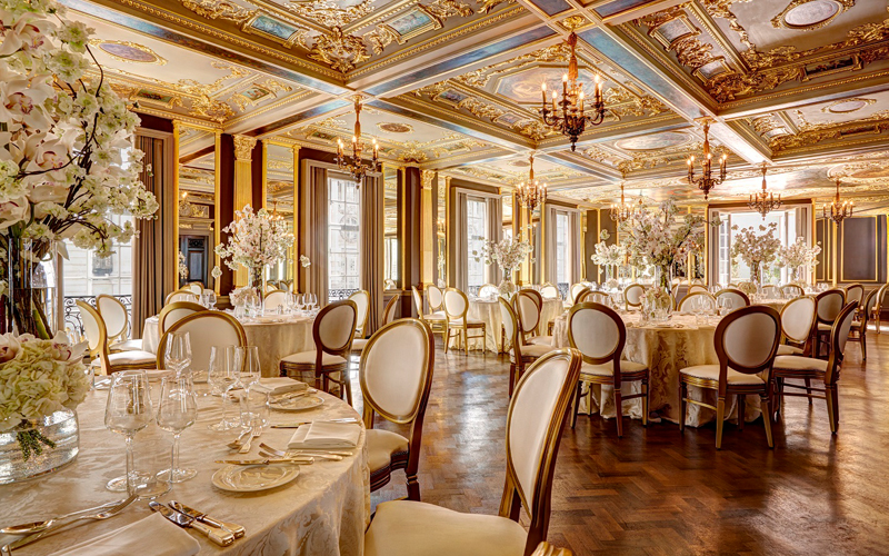 Hotel Cafe Royal London Restaurant - Destination Deluxe