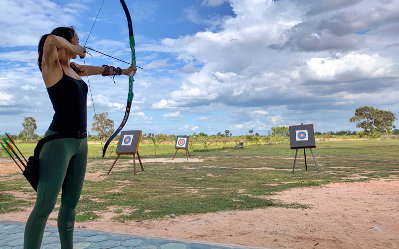 Archery Siem Reap Wellness Retreat Anantara Angkor - Destination Deluxe