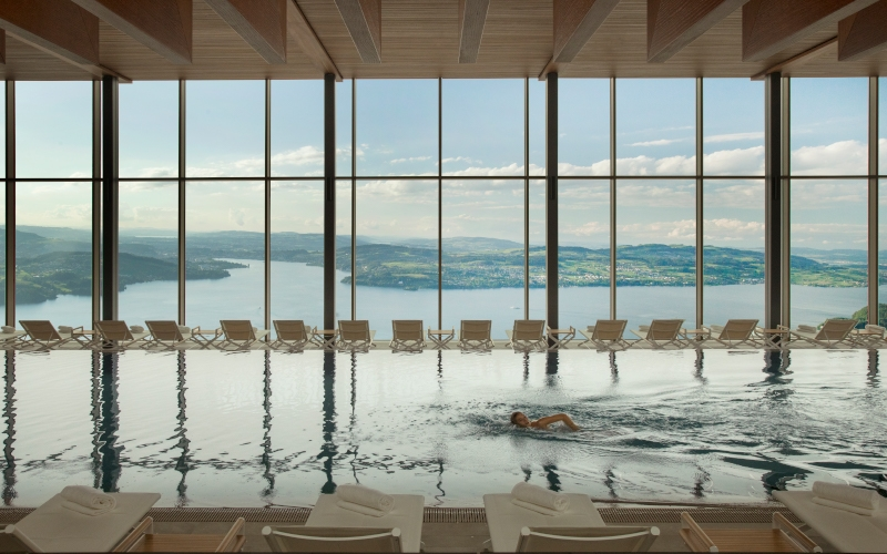 Alpine Spa Buergenstock Switzerland - Destination Deluxe