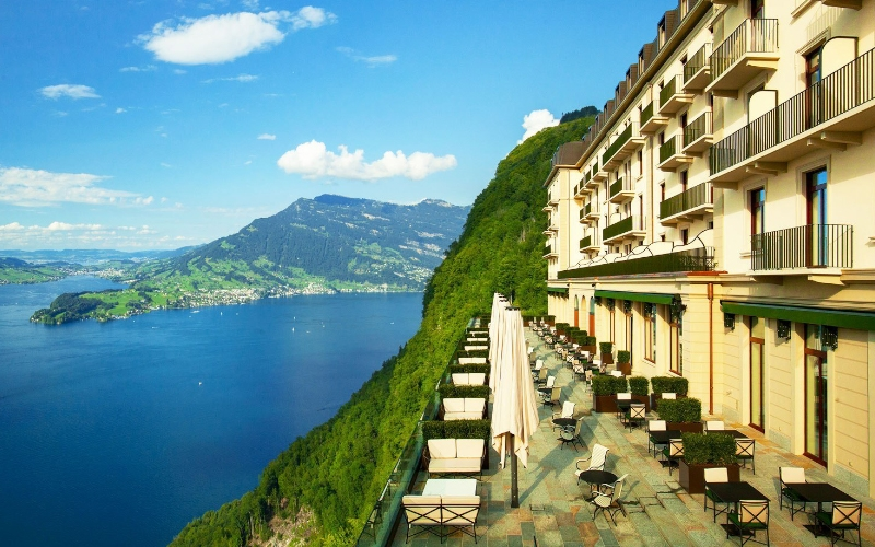 Buergenstock Hotel Lake Lucerne Switzerland - Destination Deluxe
