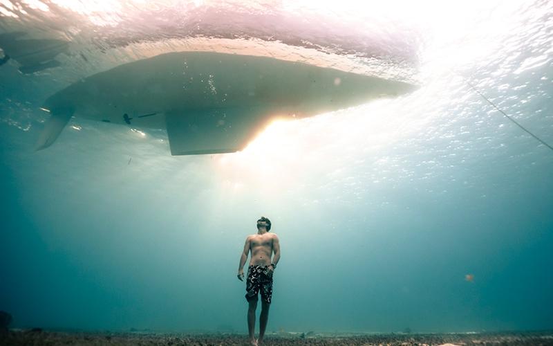 Freediving Arthur Guerin - Destination Deluxe