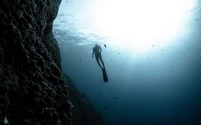 Freediving World Champion Arthur Guerin Boeri Interview - Destination Deluxe