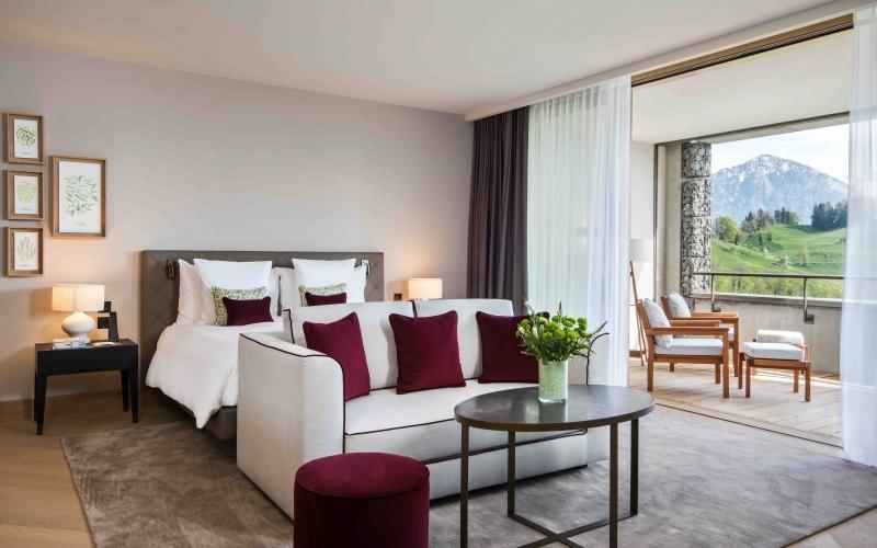 Waldhotel Buergenstock Room - Destination Deluxe