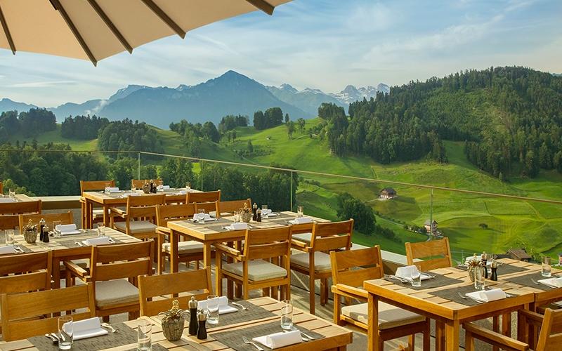 Waldhotel Verbena Healthy Restaurant Buergenstock - Destination Deluxe