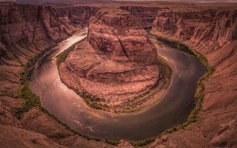 Horseshoe National Parks Virtual Travel - Destination Deluxe