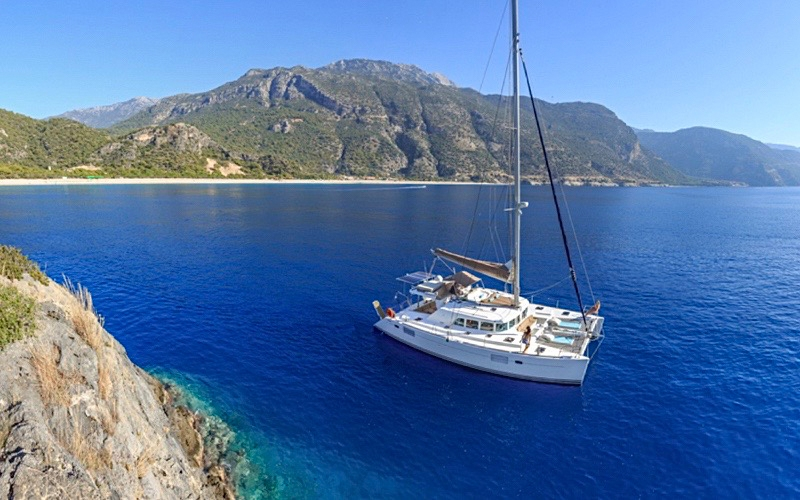 Mediterranean Yacht Charter Sail Ecclesia - Destination Deluxe
