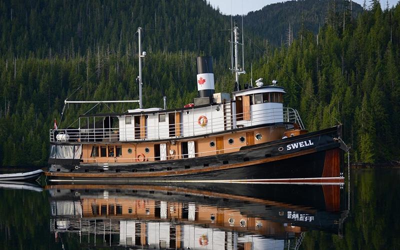 Swell Alaska Canada Boat Charter - Destination Deluxe