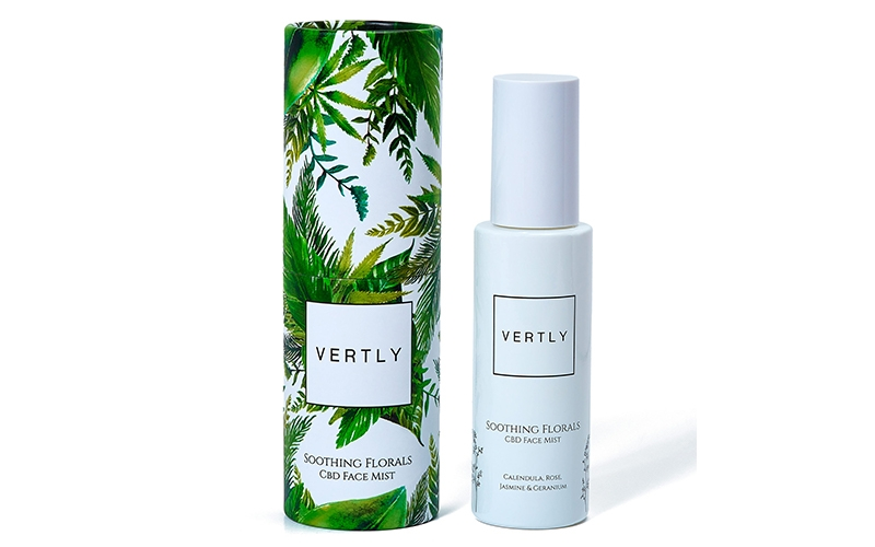 Vertly CBD Face Mist - Destination Deluxe