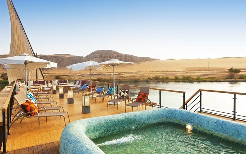 Yacht Charter Sanctuary Zein Nile Chateau - Destination Deluxe