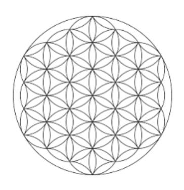 Flower of Life Sacred Geometry - Destination Deluxe