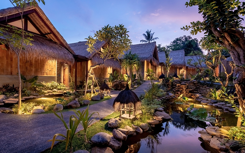 Regenerative Resorts Eco Luxury Travel Giveaway Fivelements Retreat Bali - Destination Deluxe