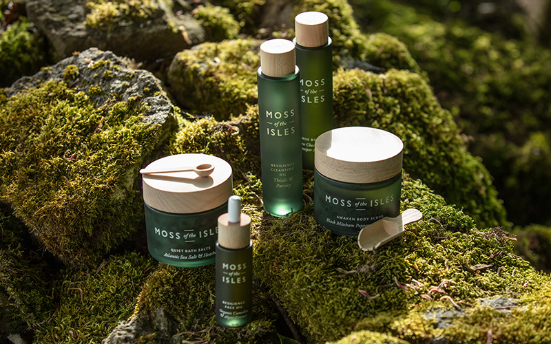 Moss of the Isles Skincare - Destination Deluxe