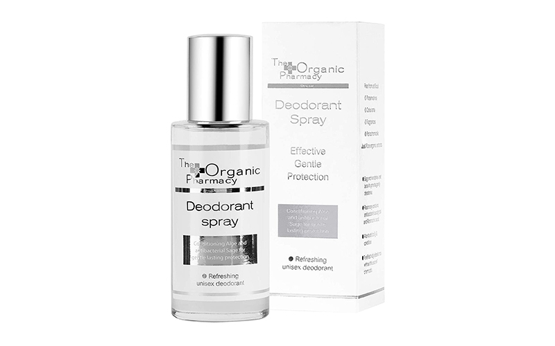 Natural Deodorant Spray The Organic Pharmacy - Destination Deluxe