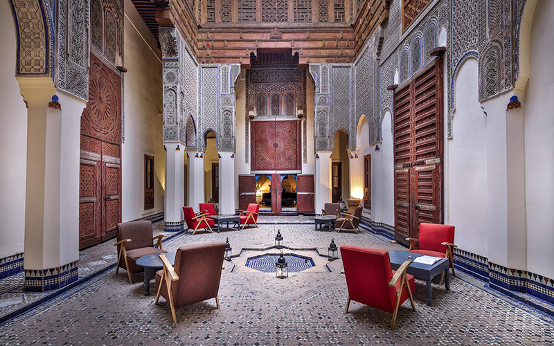 Beautiful Hotel Designs Riad Morocco - Destination Deluxe