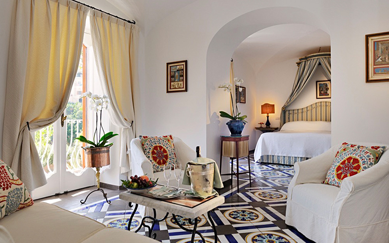 Beautiful Hotels Interior Design Le Sirenuse - Destination Deluxe