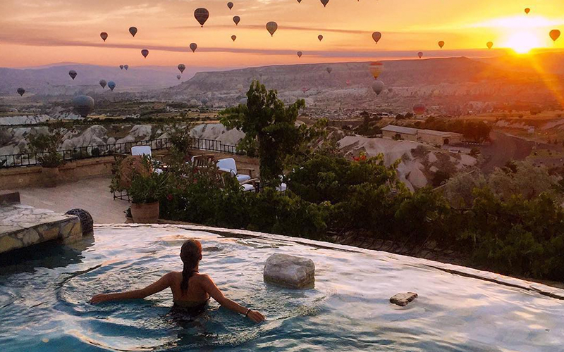 Museum Hotel Pool Cappadocia - Destination Deluxe