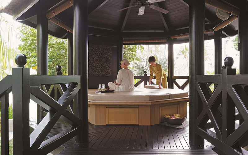 Spa Hotels in Singapore Shangri-La's Rasa Sentosa Resort - Destination Deluxe
