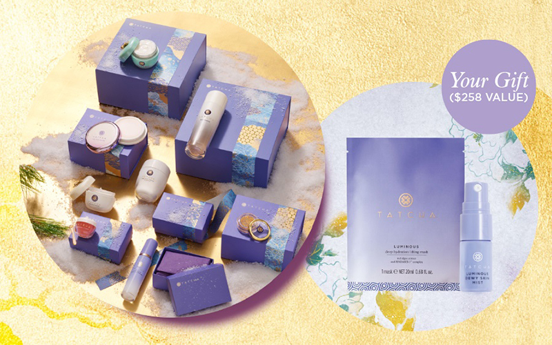 Tatcha Holiday Gift Sets - Destination Deluxe