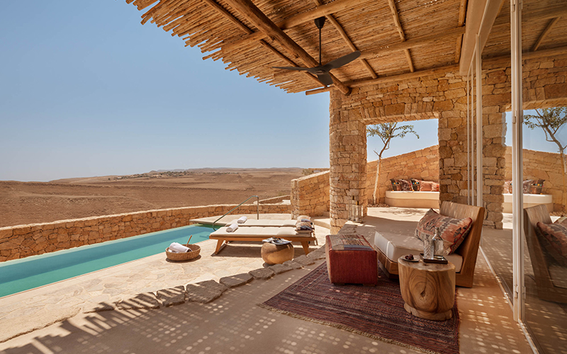 Wellness Hotel Six Senses Shaharut - Destination Deluxe