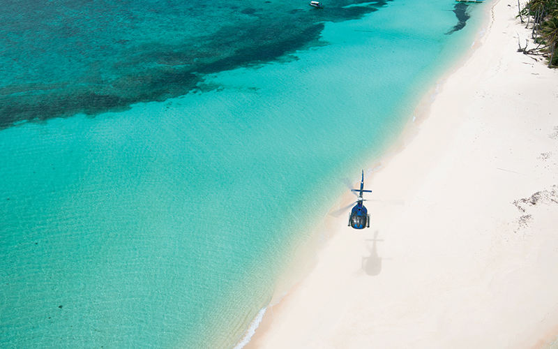 Banwa Private Island Helicopter - Destination Deluxe