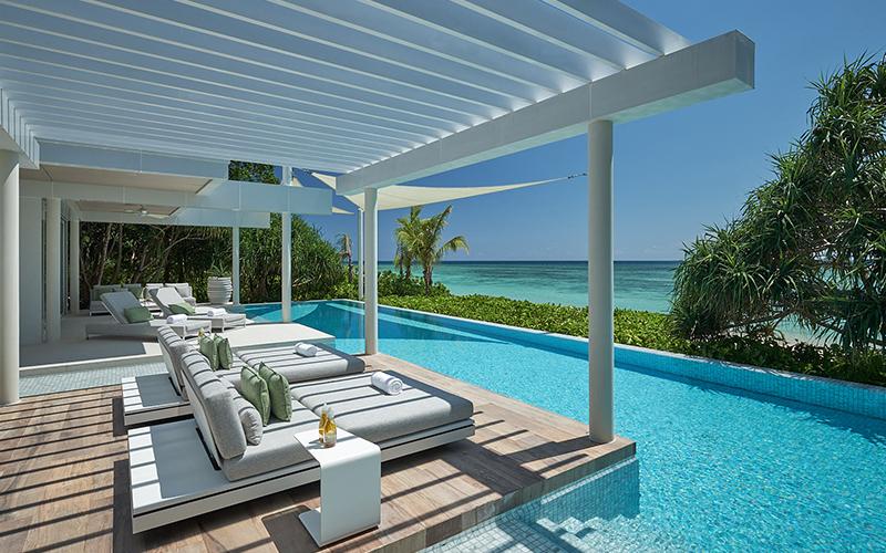Banwa Private Island Pool Goals - Destination Deluxe