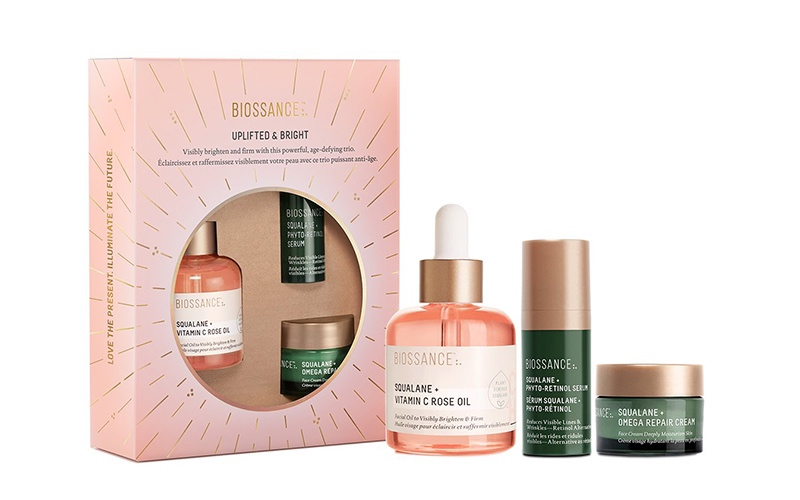 Biossance Holiday Skincare Gift Set Collection - Destination Deluxe