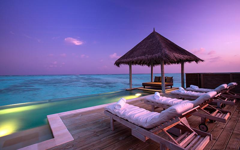 Gili Lankanfushi Maldives Sunset - Destination Deluxe