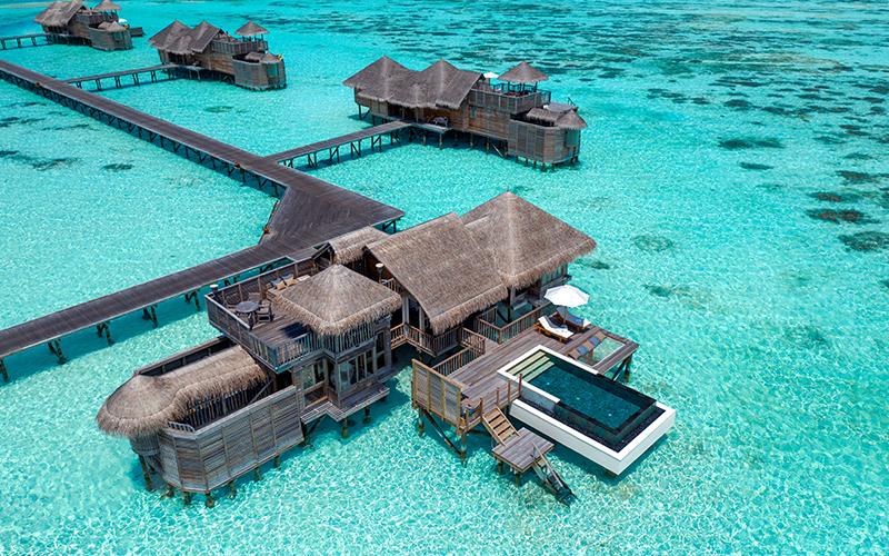 Maldives Overwater Villas Gili Lankanfushi - Destination Deluxe