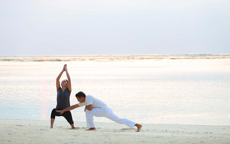Yoga in the Maldives Gili Lankanfushi - Destination Deluxe