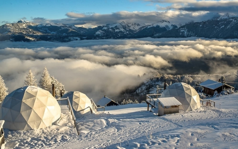 Whitepod Switzerland Eco Hotels - Destination Deluxe