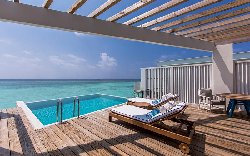Amilla Maldives Pool Villa Sundeck - Destination Deluxe