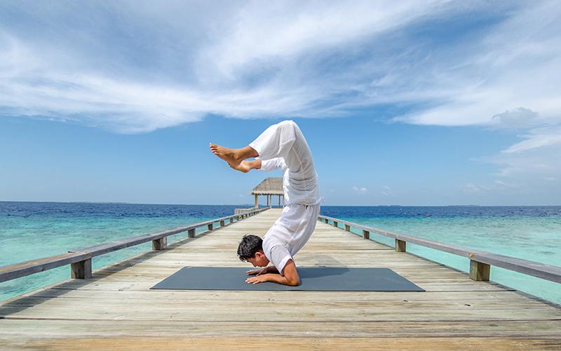 Amilla Maldives Yoga - Destination Deluxe