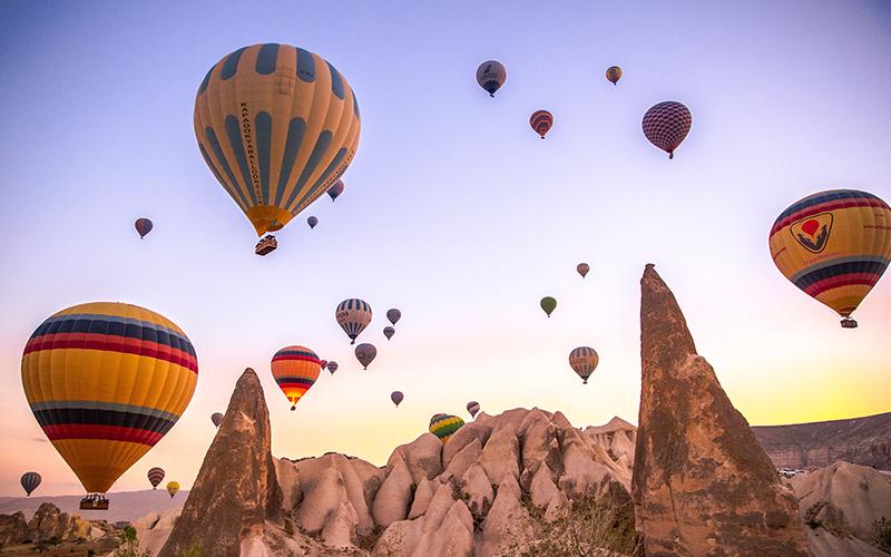 Hot Air Balloon Cappadocia Turkey - Destination Deluxe