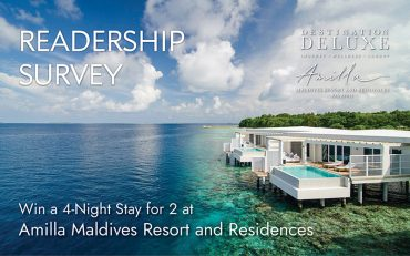 Readership Survey Lucky Draw Win Amilla Maldives Stay - Destination Deluxe